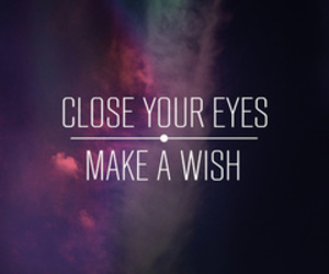 wish, eyes, and quotes image