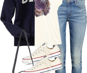 clothes, converse, and GAp image