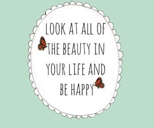 happy, beauty, and life image