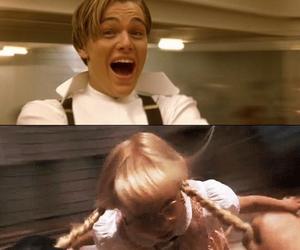 titanic, funny, and matilda image