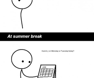 days, school, and summer image