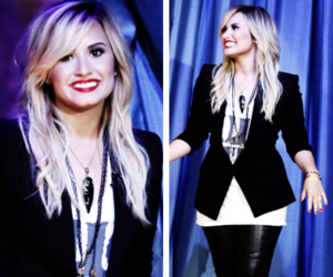 demi lovato, pretty, and stay strong image