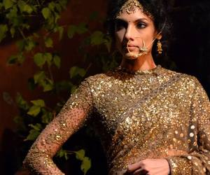 designer, dress, and glitter image