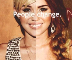 miley cyrus, change, and miley image