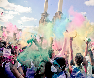 colour, festival, and london image