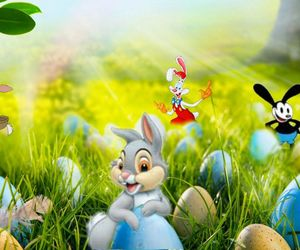 disney, easter, and easter eggs image