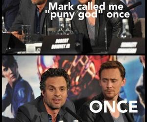 tom hiddleston, funny, and Hulk image