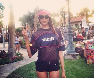 Jourdan Dunn, coachella, and fashion image