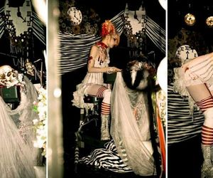 Emilie Autumn, live, and gothic image