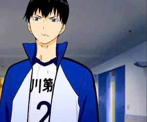 anime, haikyuu!!, and kageyama tobio image