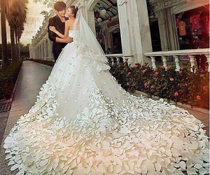 couple, perfect, and dress image