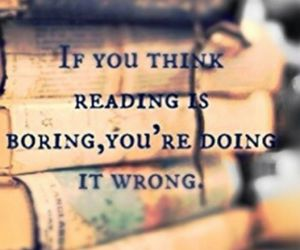 book, read, and boring image