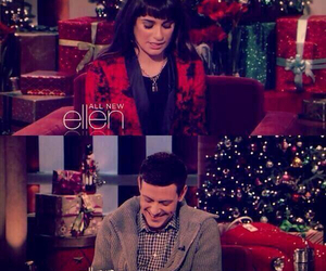 lea michele, monchele, and ellen image