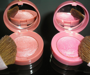 pink, make up, and bourjois image