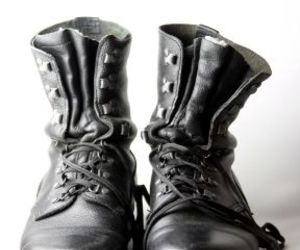 boots, fashion, and lace up image