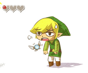 fairy, game, and link image