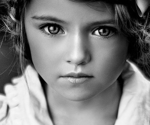 girl, child, and eyes image