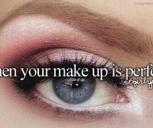 eyelashes, eyeshadow, and make up image
