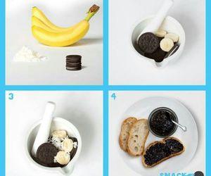 banana, oreo, and food image