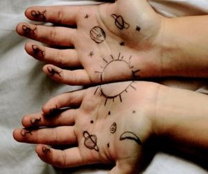 draw, hands, and image image