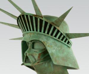 darth vader, star wars, and statue of liberty image