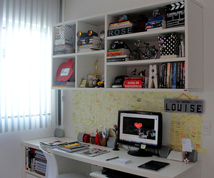 decor, home office, and room image