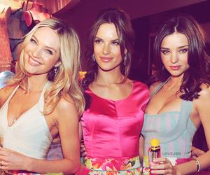 Victoria's Secret, miranda kerr, and alessandra ambrosio image