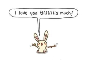 love, bunny, and cute image