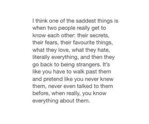 quotes, sad, and strangers image
