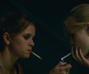 danielle panabaker, smoke, and film image