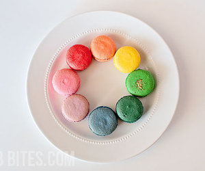 Cookies, macarons, and pretty image