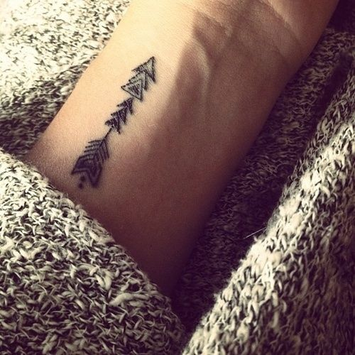 Arrow Tattoo Shared By Tri Tra Trullala On We Heart It