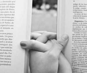 books, couple, and read image