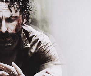 the walking dead and rick grimes image