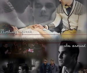 klaine and criss colfer image