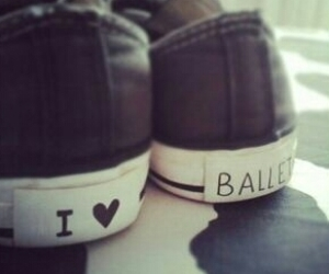 ballet, beauty, and shoes image