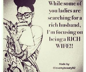 rich, wife, and lady image