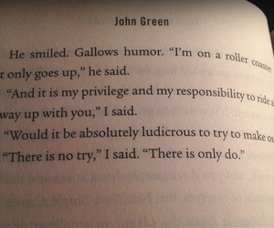 cancer, john green, and life image