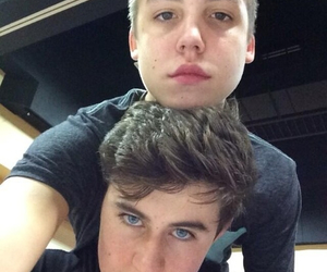 nash grier, magcon, and matthew espinosa image