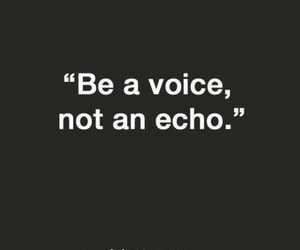 voice, quote, and echo image