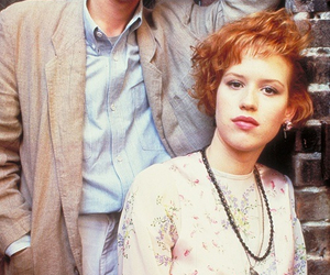 pretty in pink, Molly Ringwald, and andrew mccarthy image