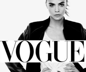 vogue, cara, and model image