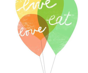 eat, live, and love image