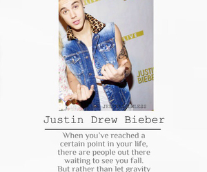 quote, justin bieber, and justin drew bieber image
