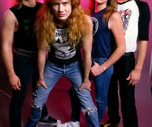 megadeth, dave mustaine, and thrash metal image