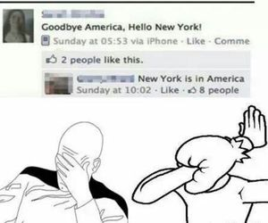 america, new york, and funny image
