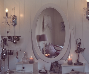 decor, dressing table, and ikea image
