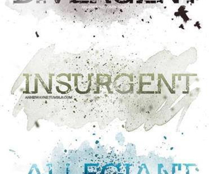 divergent, allegiant, and insurgent image
