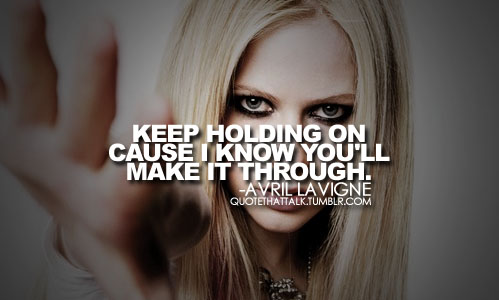 avril lavigne quotes about love