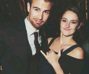 theo+james and shailene+woodley image